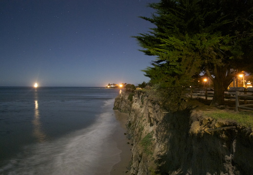 Isla Vista by night