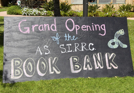 AS13 Book Bank Grand Opening